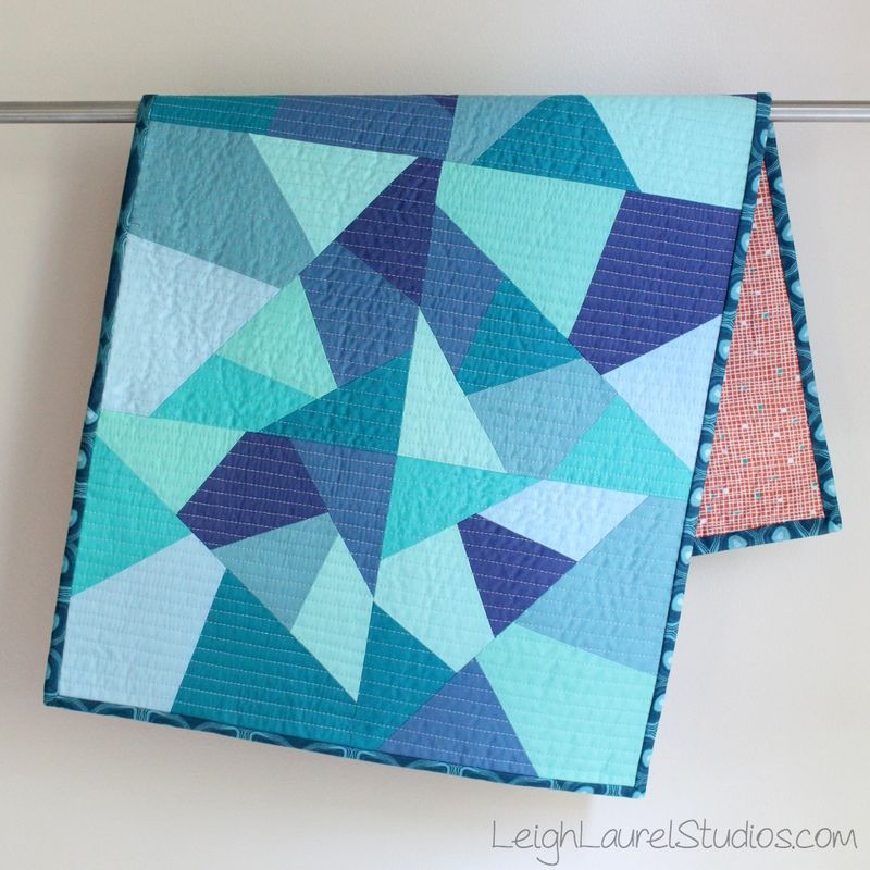 Sea glass table runner tutorial by Karin Jordan for Sizzix