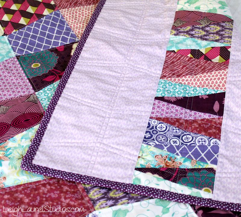 Baby tumbler quilt by karin jordan - leigh laurel