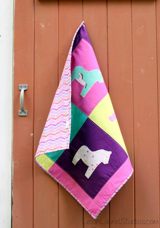 Horse wall hanging 2 - karin jordan lls