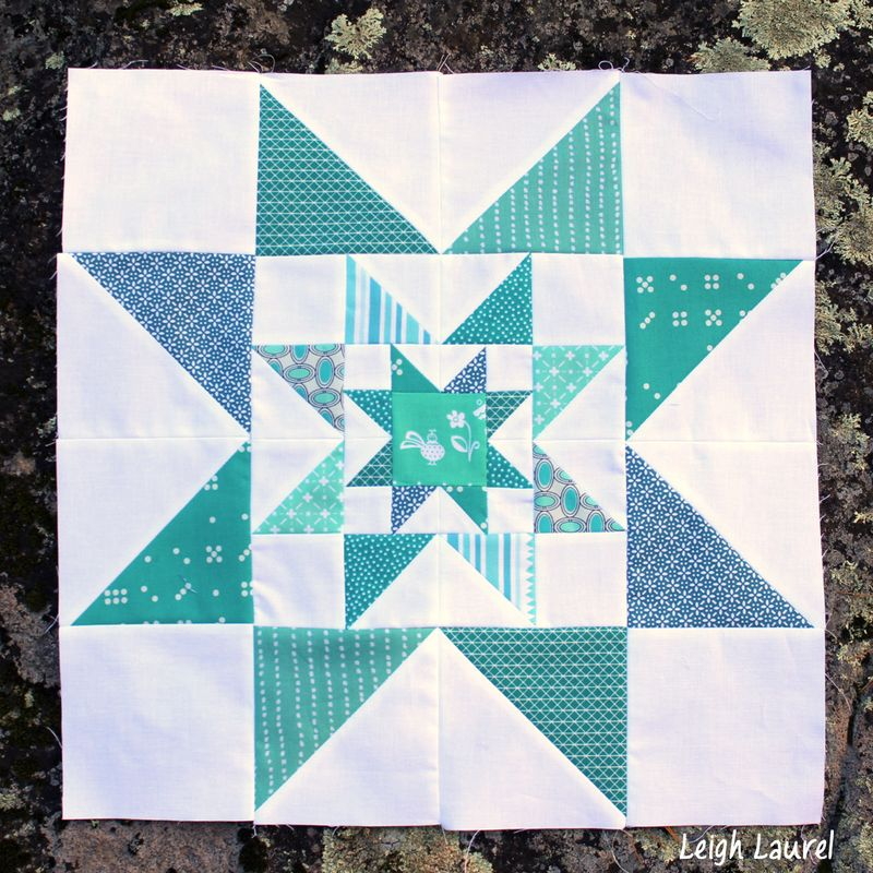 Triple star block by karin jordan - leigh laurel