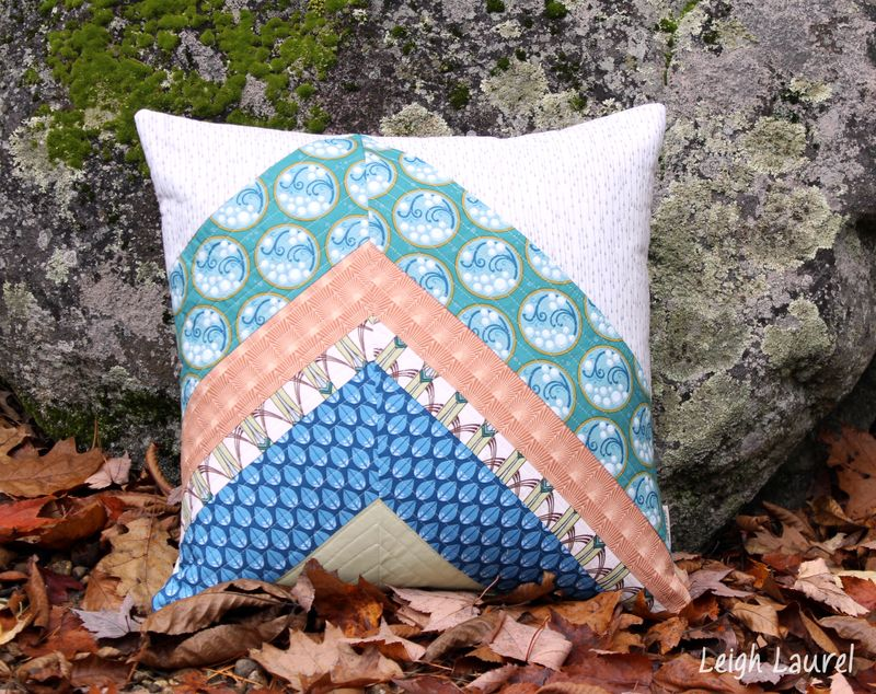 Cascade fabric by jessica levitt for windham - pillow design by karin jordan