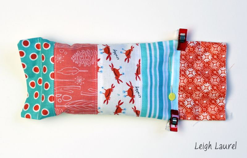 Eye pillow F - tutorial by karin jordan