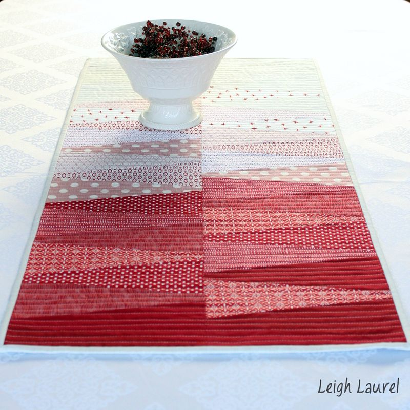 Dresden table runner 8 - by karin jordan