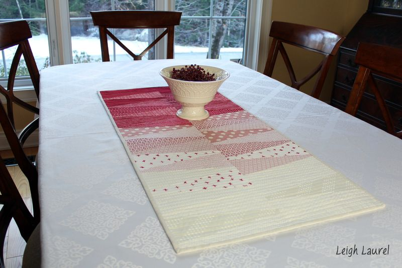 Dresden table runner 10 - by karin jordan