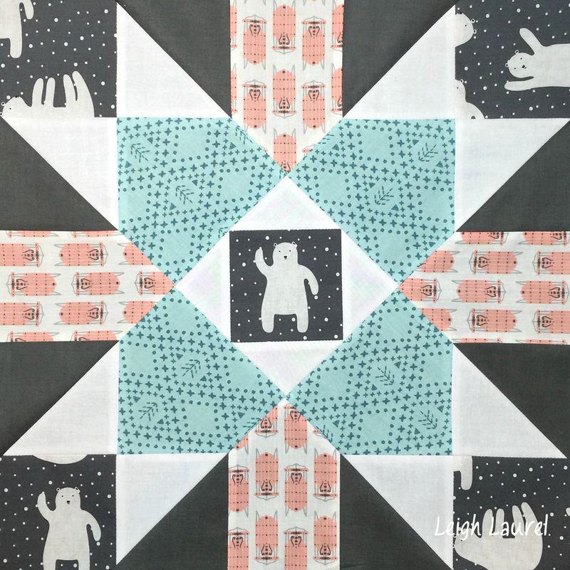 Fair isle block K by karin jordan