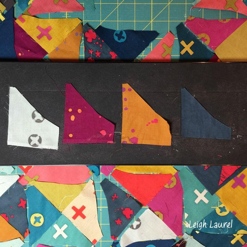 Die cutting handcrafted scraps - karin jordan