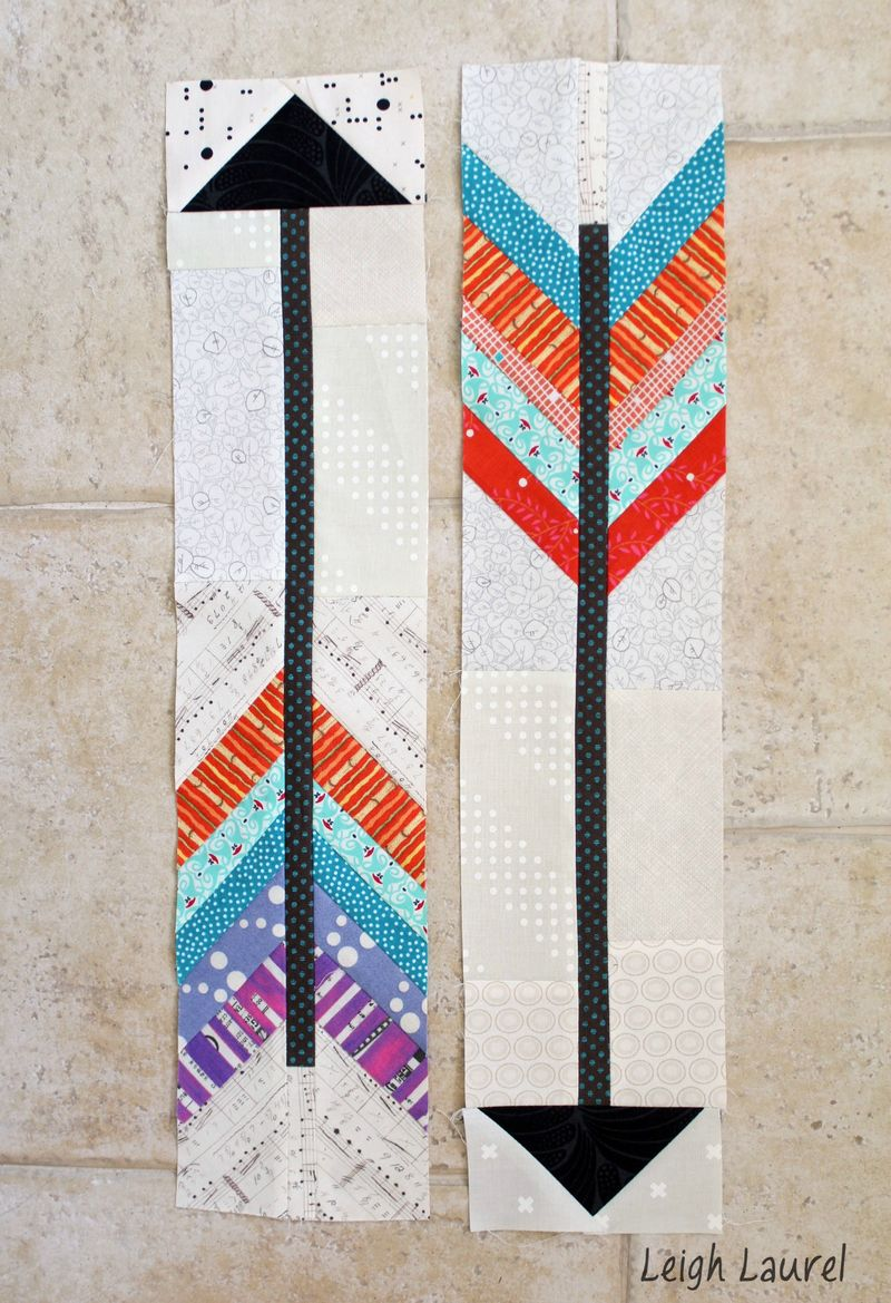 Arrow blocks for dgs by karin jordan