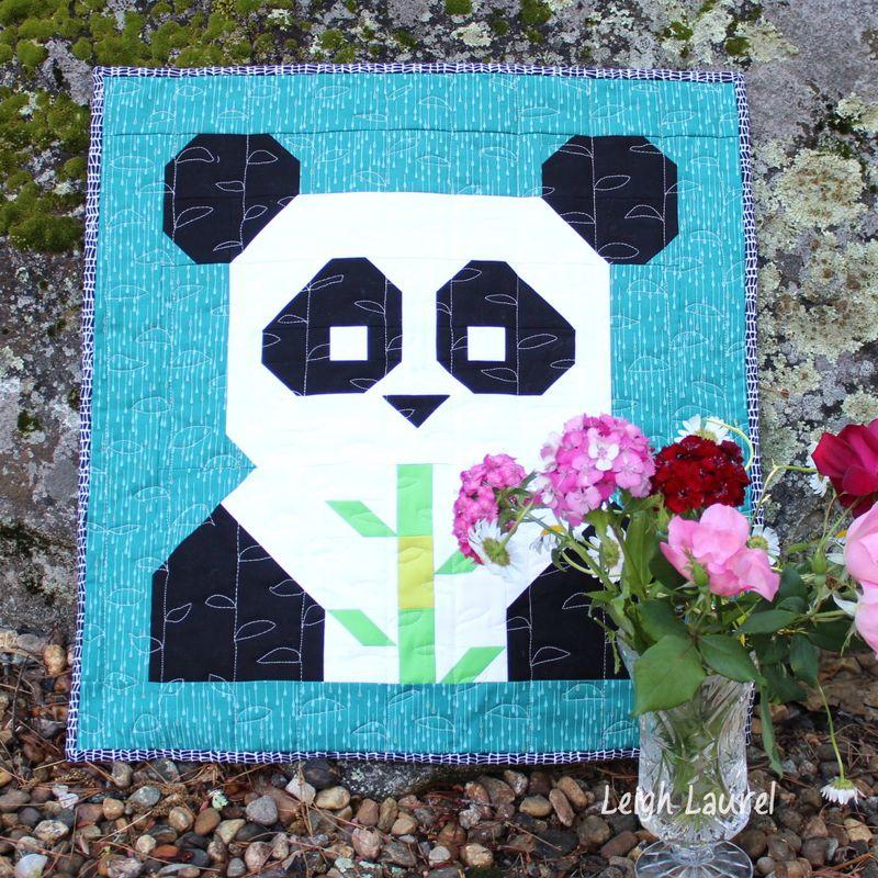 Pandamonium by karin jordan - a FQS pattern