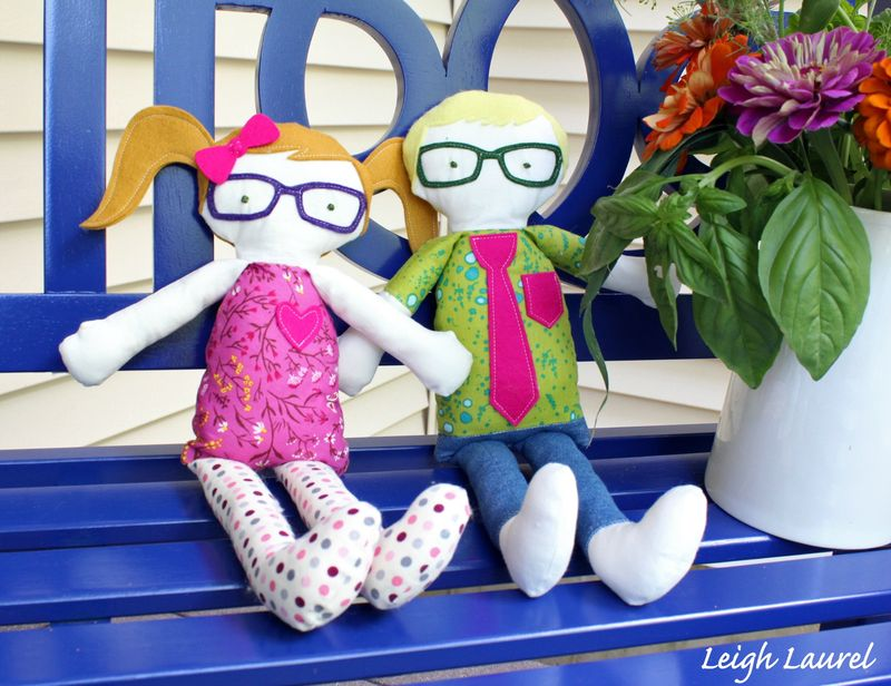 Kid giddy dolls - by Karin Jordan - Sizzix die by Kid Giddy
