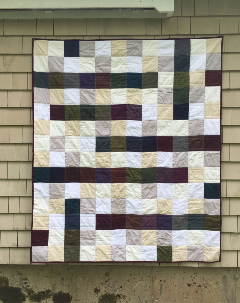 Oakshott crossword quilt 4