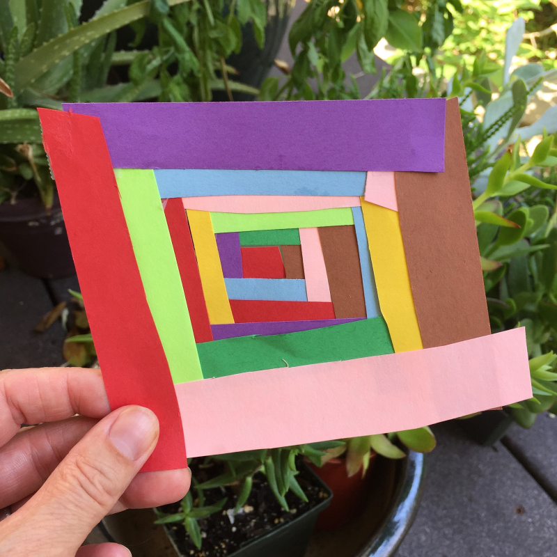 34. paper kids craft inspired by chawne's work