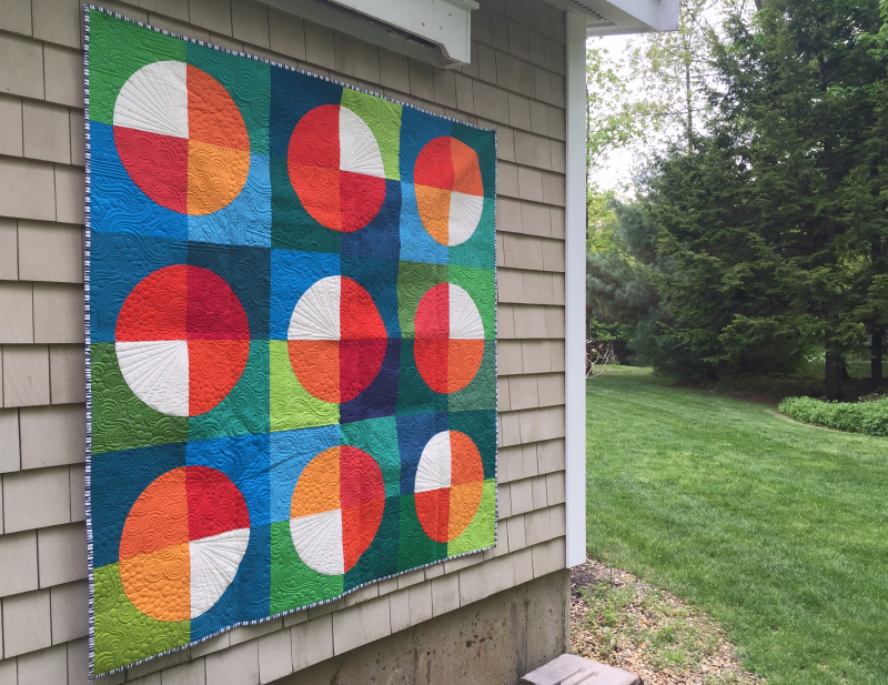 15 minutes of fame quilt by karin jordan in quilt now