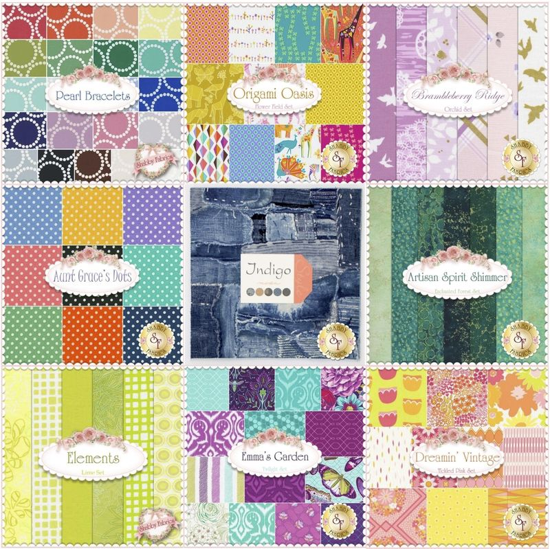 Precuts at shabby fabrics