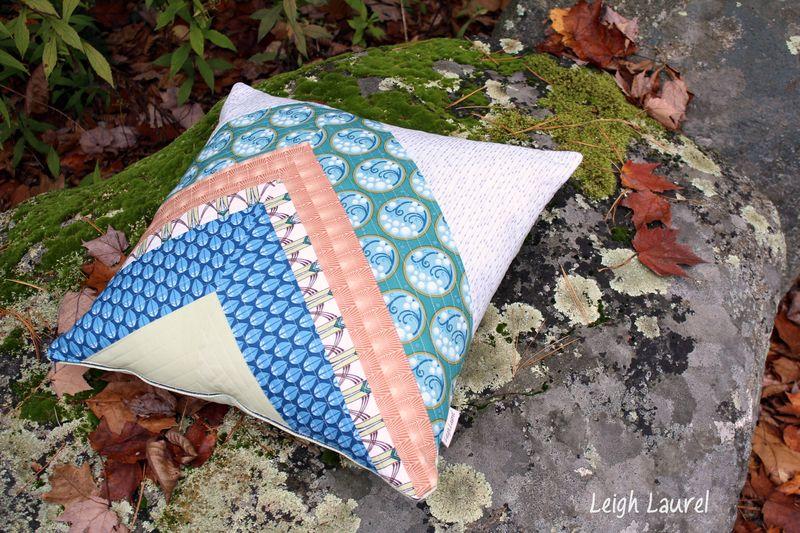 Cascade fabric by jessica levitt for windham -pillow design by karin jordan