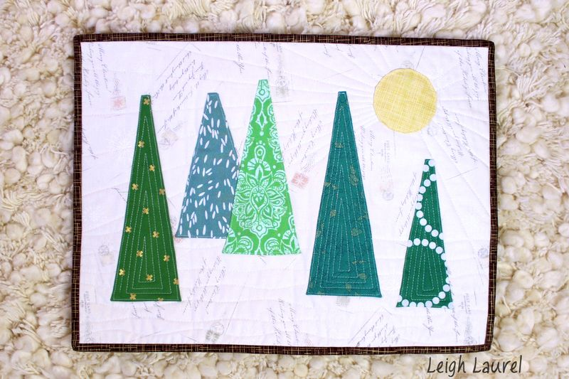 Dresden forest placemat 3 by karin jordan