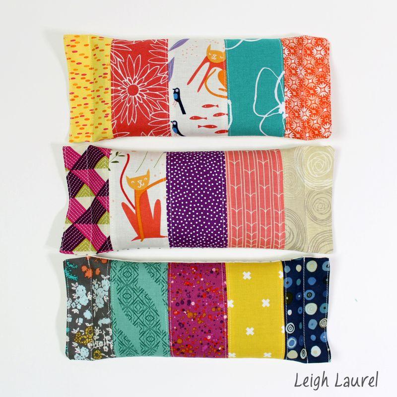 Eye pillows 1 - tutorial by karin jordan