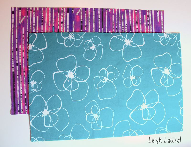 Reversible placemats A - tutorial by karin jordan