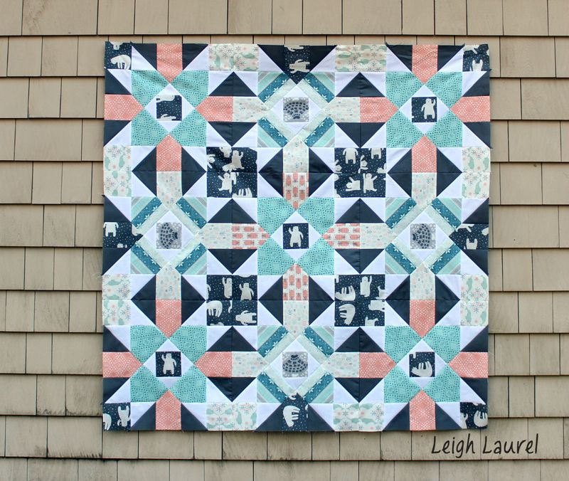 Fair isle quilt 2 - tutorial by karin jordan