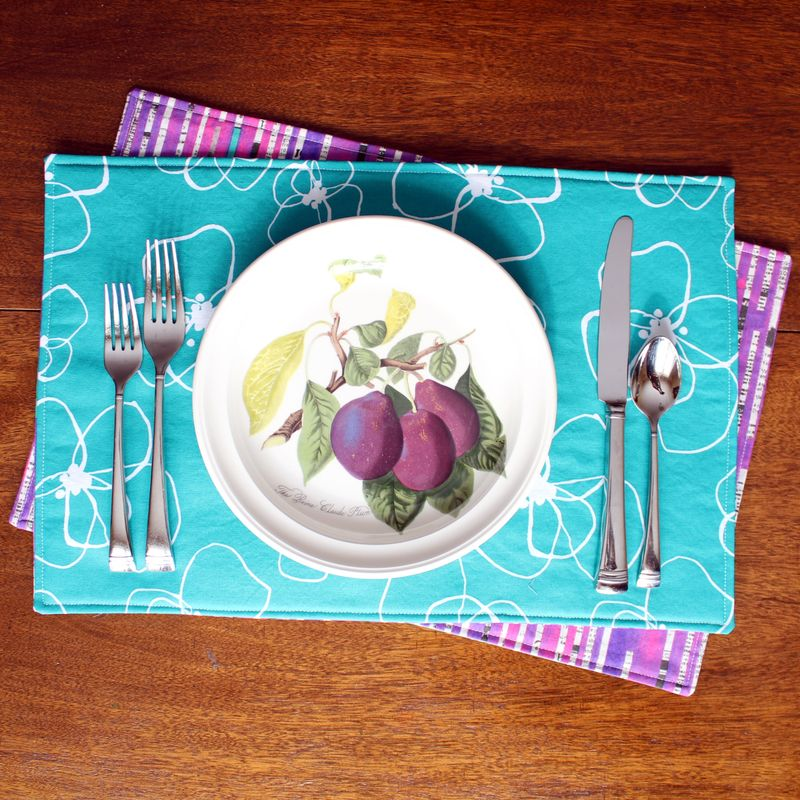 Reversible placemats 3