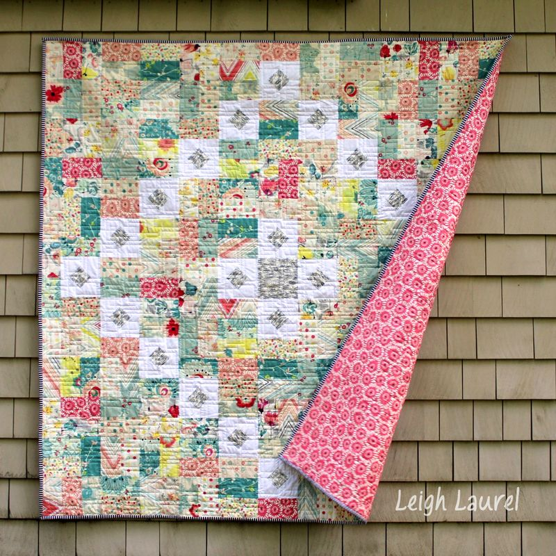 Rapture quilt by karin jordan
