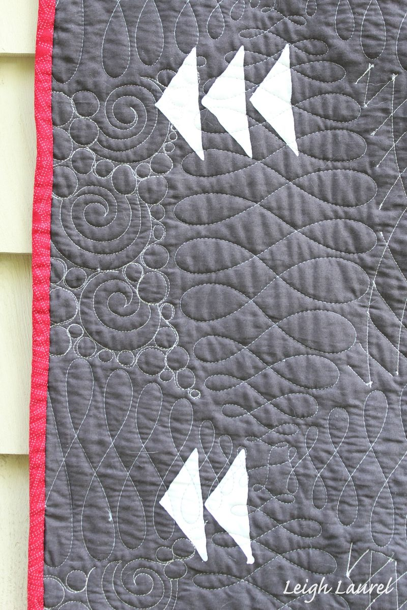 Melon wedding ring quilt back 2 by karin jordan
