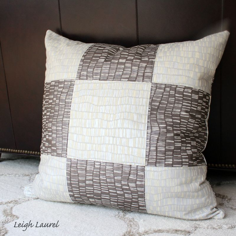 Shimmer pillow reverse by karin jordan