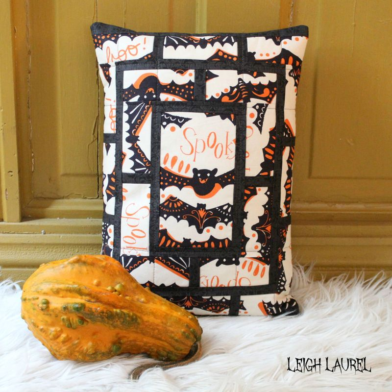 Peek bat pillow by karin jordan - a pattern by melanie tuazon