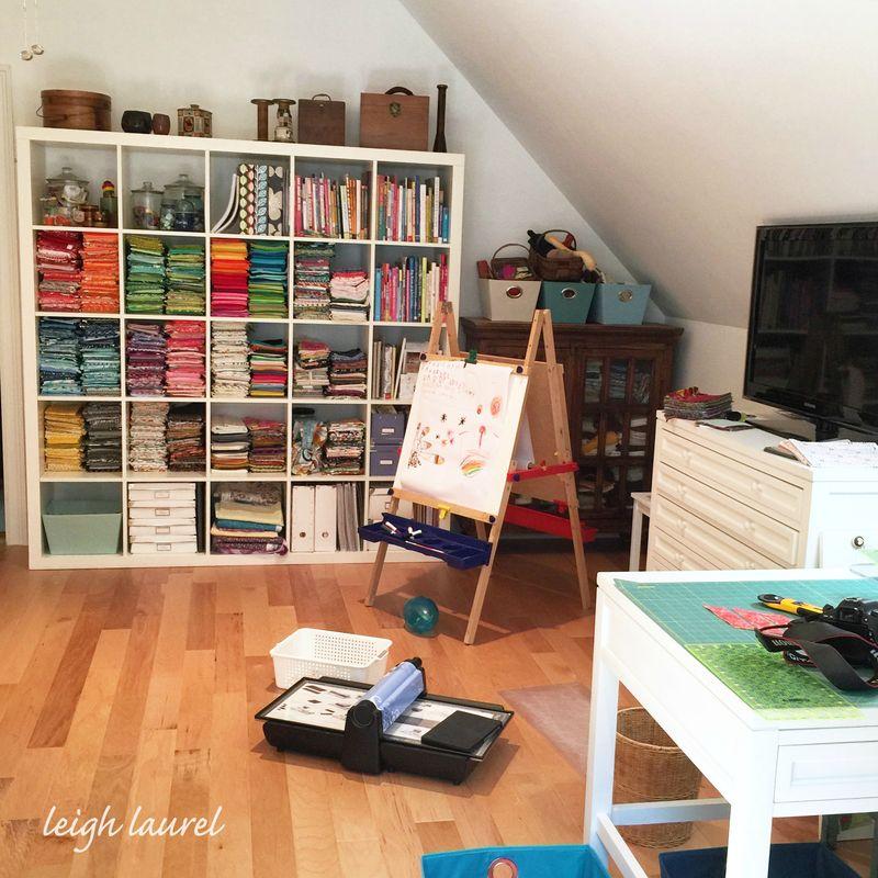 New studio - karin jordan of leigh laurel
