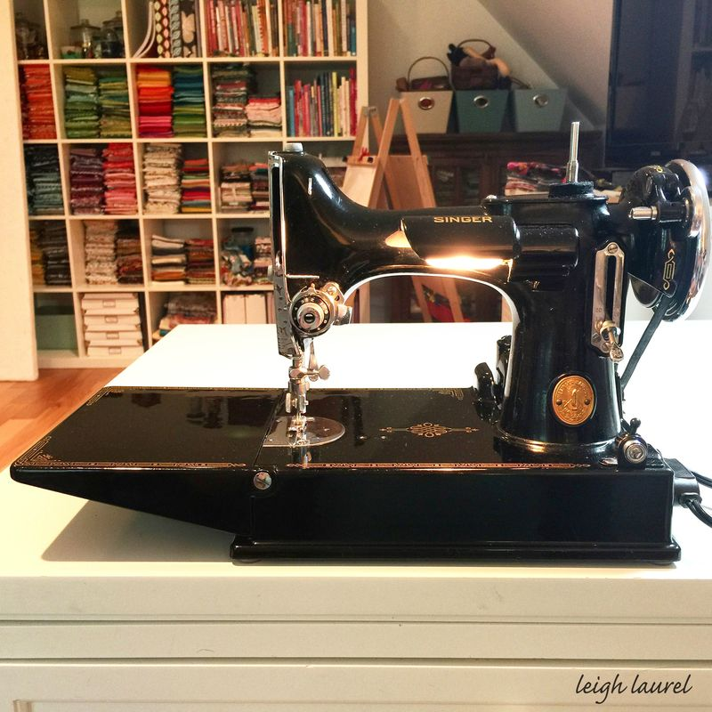 Singer sewing machine - karin jordan