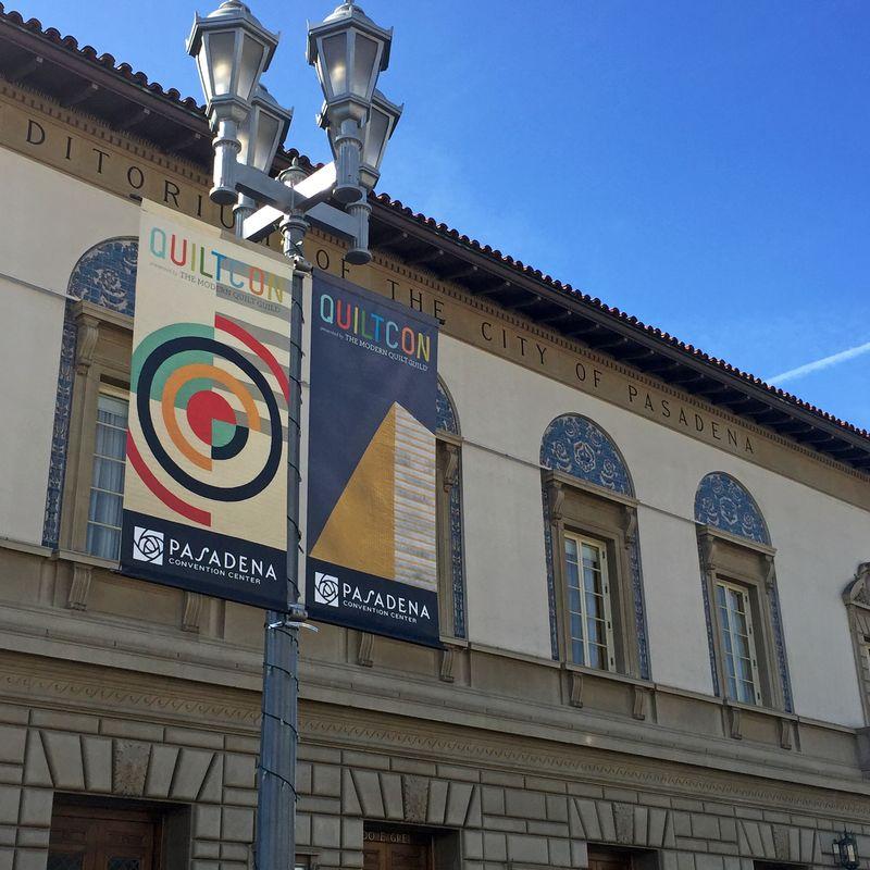Quiltcon banner