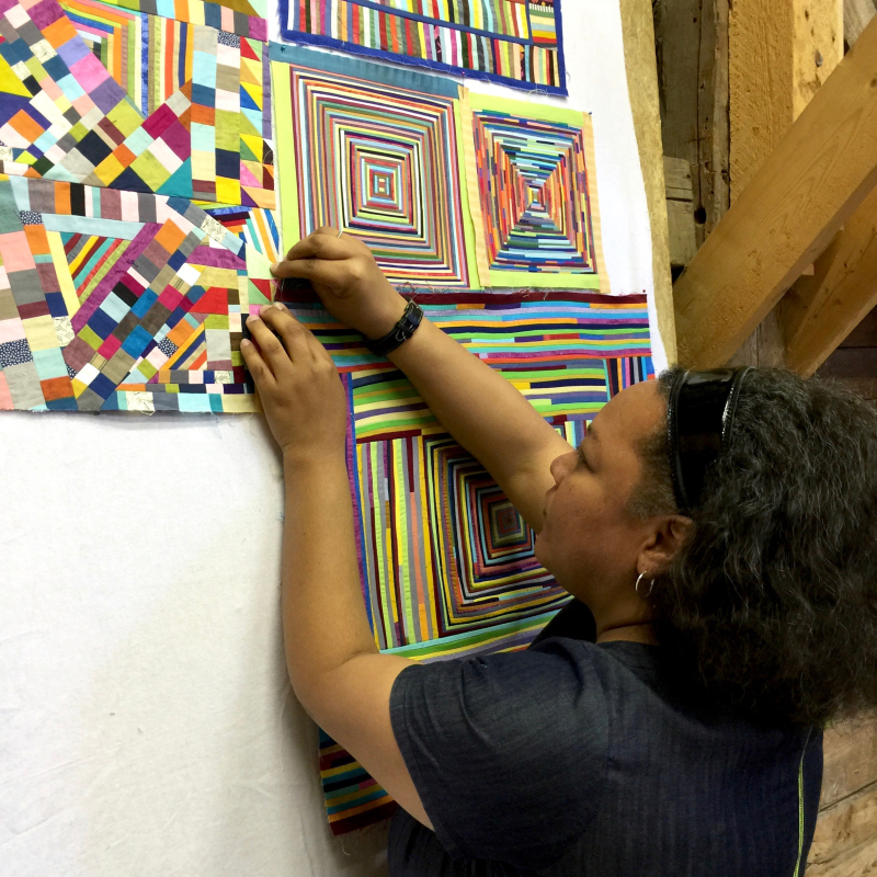 24. Chawne and her work