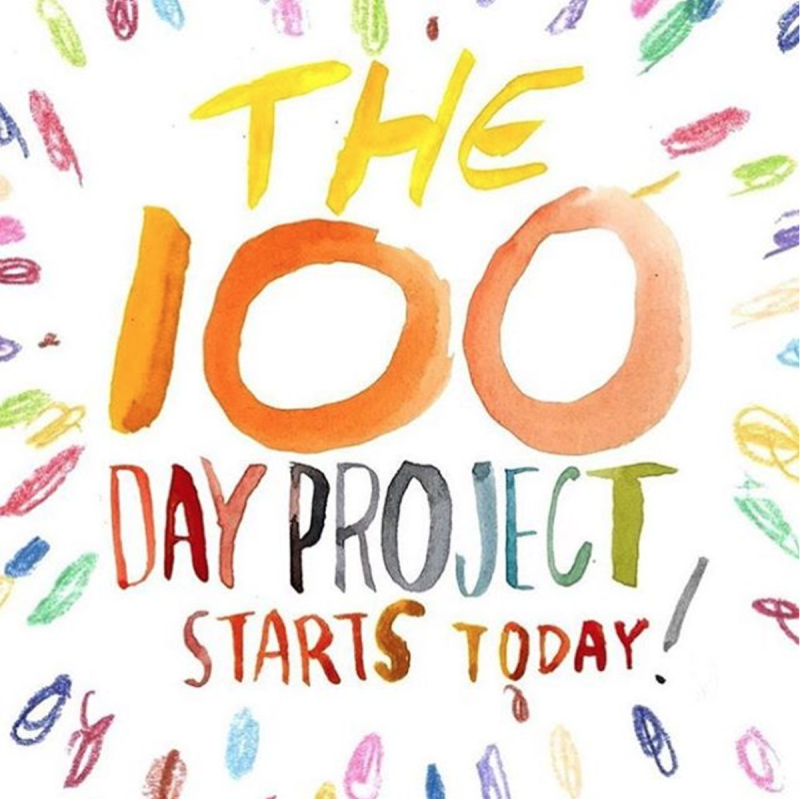 100 day project image