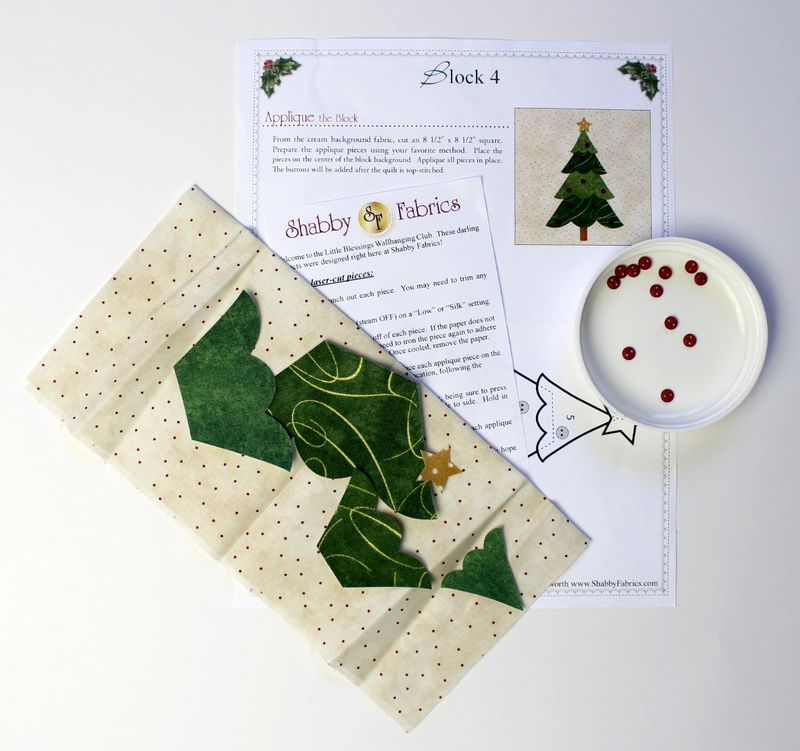 Tree kit - shabby fabrics