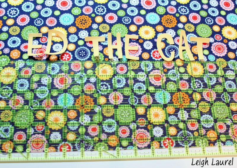 Letters - flannel pet bed tutorial by karin jordan