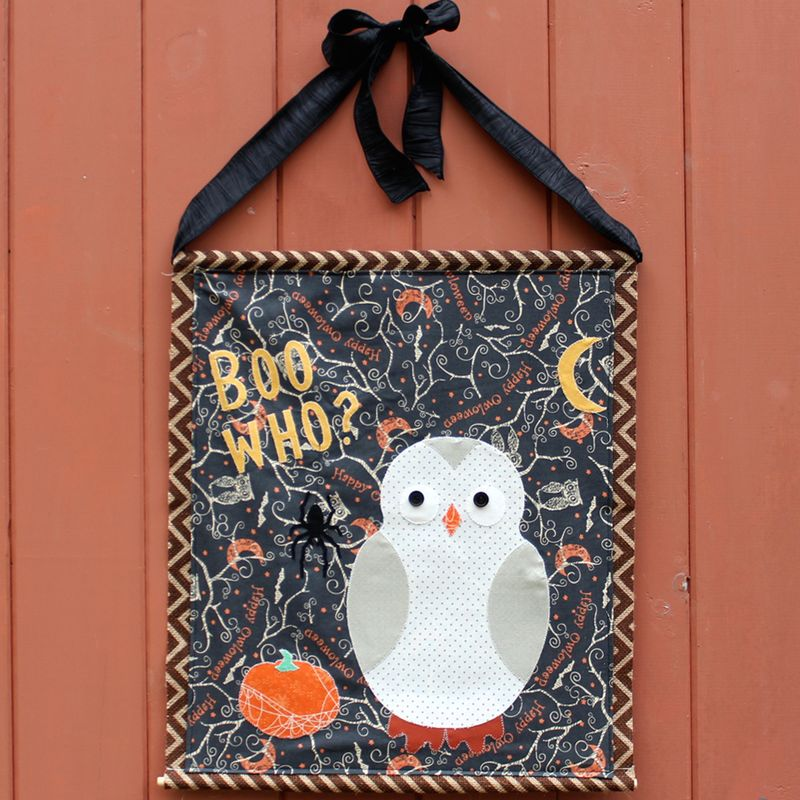Halloween Banner by Karin Jordan - tutorials