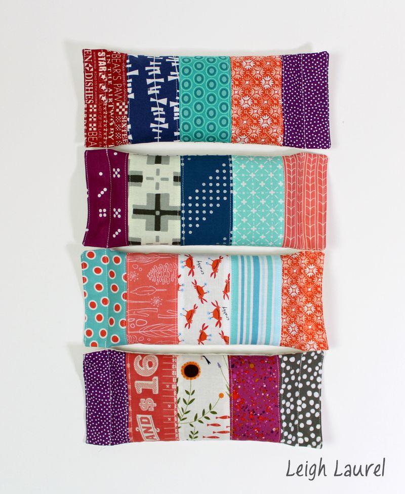 Eye pillows 2 - tutorial by karin jordan