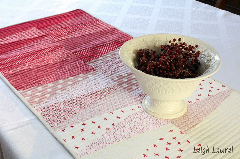 Dresden table runner 9 - by karin jordan