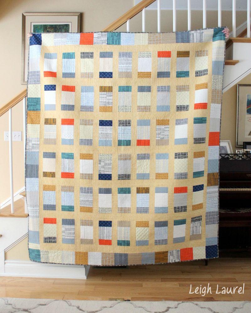 Charm box quilt by karin jordan