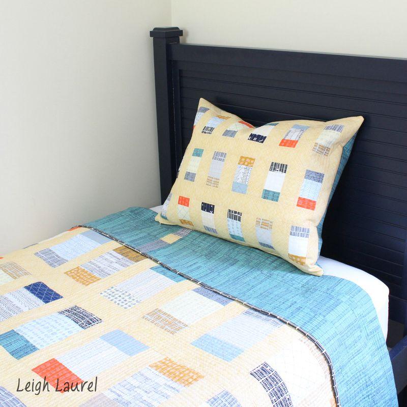 Charm box pillow 3 - tutorial by karin jordan