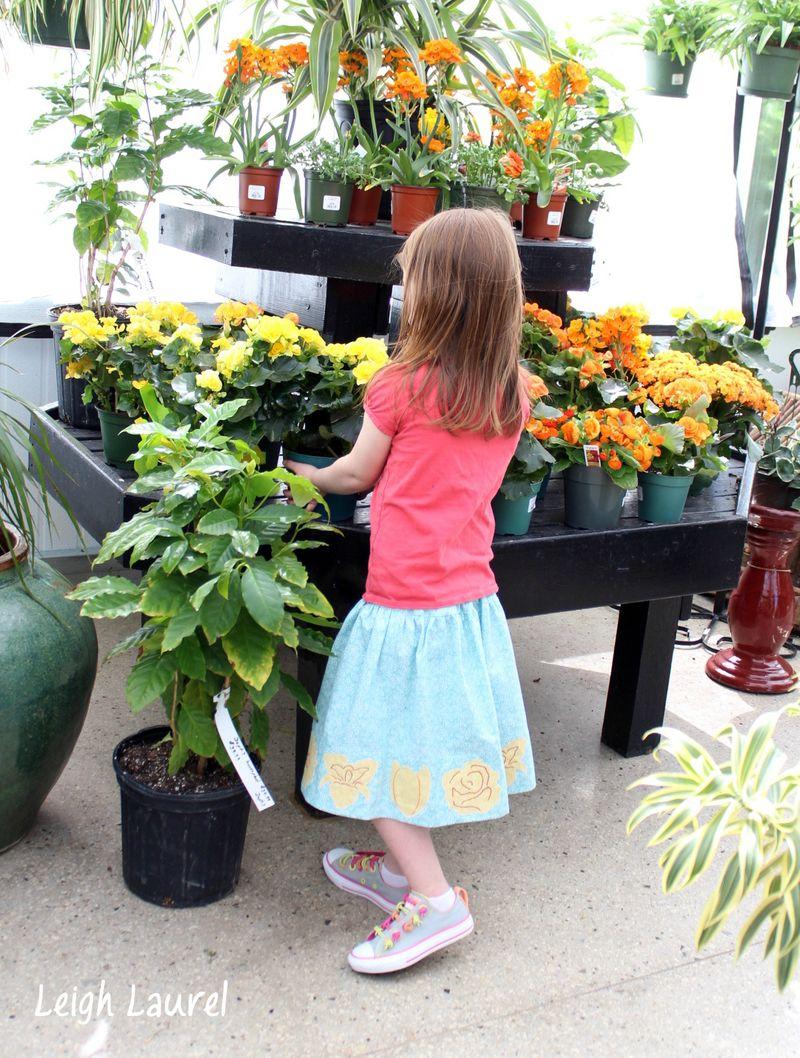 Flower skirt 11 by karin jordan