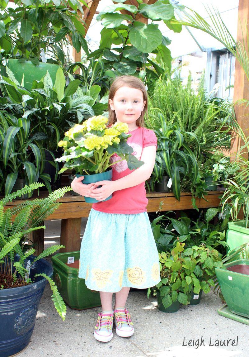 Flower skirt 12 by karin jordan