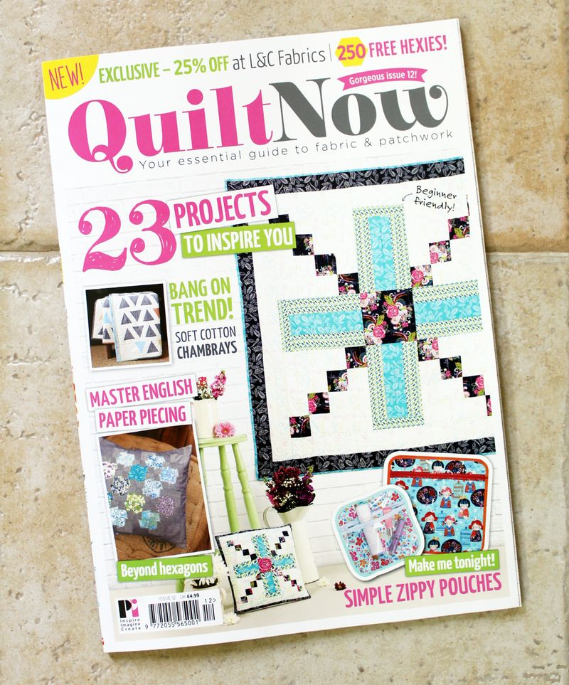 Cover of quilt now 12
