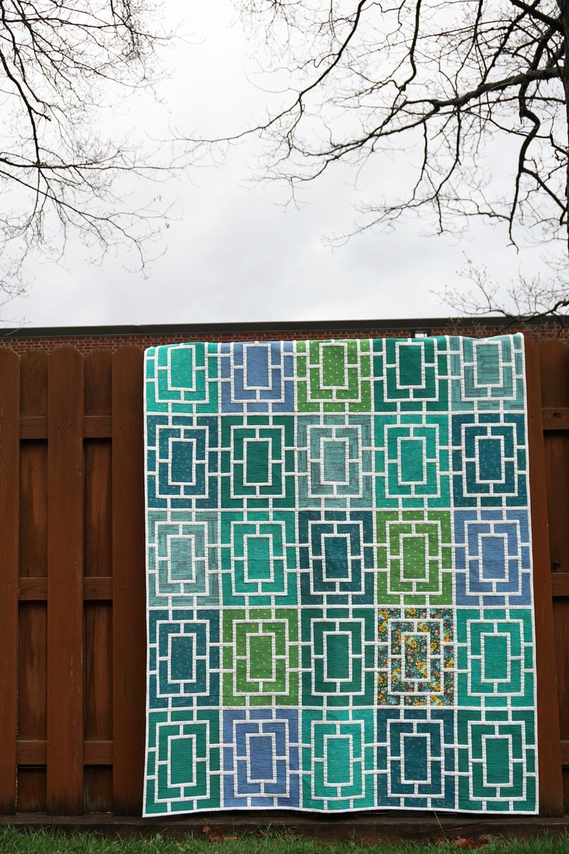 Peek quilt by melanie tuazon