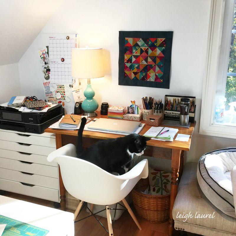 Studio desk - karin jordan of leigh laurel