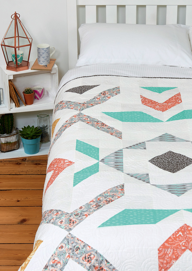 Love Patchwork & Quilting issue 29 PEBBLE AND SPARK