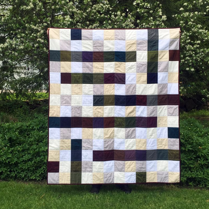 Oakshott crossword quilt 1