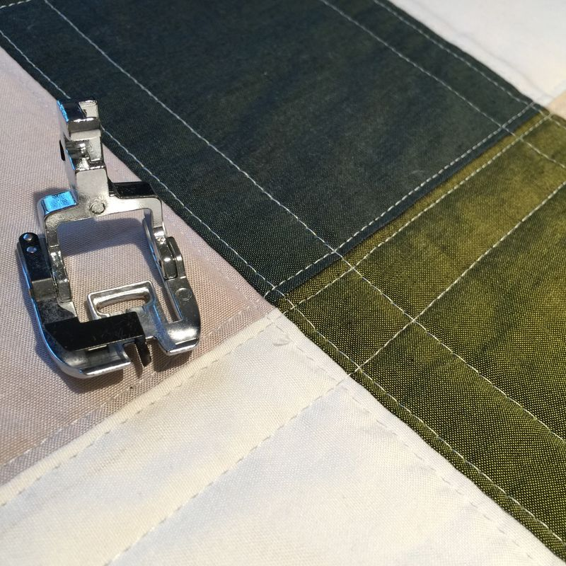 Stitching in the ditch foot 2