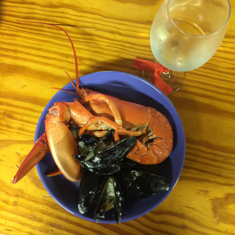 31. Lobstah night at Camp Medomak