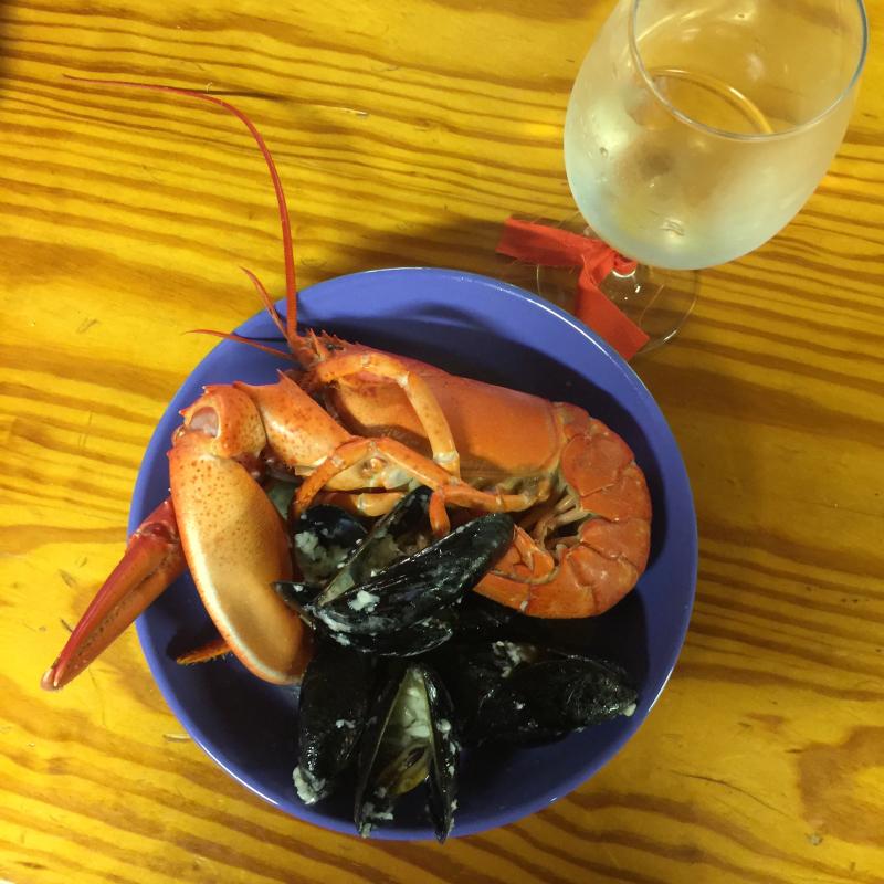 31. Lobstah night at Camp Medomak