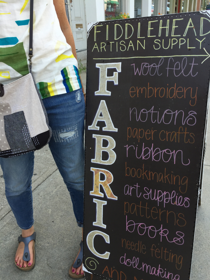 32. Shopping at Fiddlehead Artisan Supply